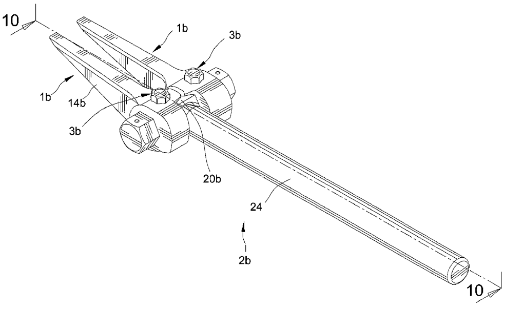 US Patent [2012-07-10] - Prying tool (US8,215,617 Liou, Mou-Tang)