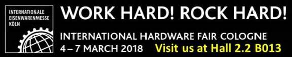 2018 Cologne Hardware Show